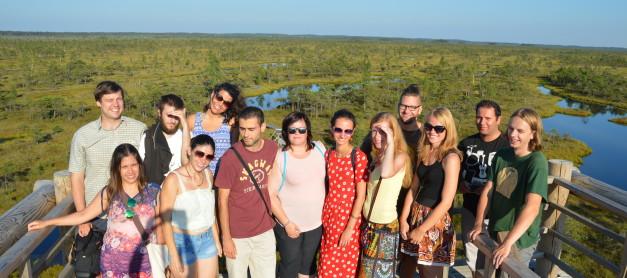 Portugāļu jaunieši iepazīst Latvijas upes